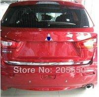Wholesale Car rearguards trunk shield after the bar plaque Fit For Mitsubishi ASX with ABS Chrome