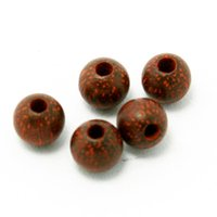 Wholesale Jewelry Findings New Wooden Beads mm mm mm Round Shape Natural Rosewood Wood Loose Spacer Beads for Bracelet