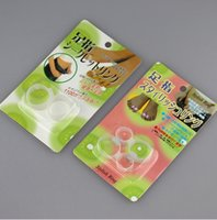 Wholesale Magnetic Silicon Foot Massage Toe Ring Weight Loss Slimming Easy Healthy magic slimming toe ring DHL Shipping