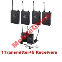 Wholesale Takstar UHF UHF UHF frequency Wireless Tour Guide System m Operating Range Transmitter Receivers use for Tour guiding