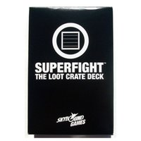 big loot - Superfight The Loot Crate Deck Exclusive Card Deck Characters Party Game Cards