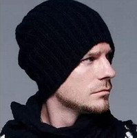 asos free - New Beckham Hats Warm ASOS Beanie Knitted Wool Cap Male Womens Oversize Beanie Stylish Winter Hats Sport