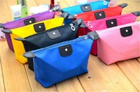 Wholesale 20PCS HOT sale designs women Cosmetic Bags candy Cute Women Lady Travel Makeup Bags Casual Purses Dumpling type wallet D443