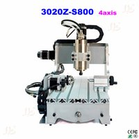Wholesale Mini CNC Router Z S800 axis with ball screw w water cooling spindle