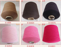 Wholesale cashmere mink cashmere yarn clothing fabric Cashmere sweater y good heat insulating ability and high performance price ratio