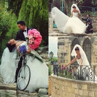 accessories sayings - Two Layers Tulle Wedding Bridal Veils Lace Applique Veil Hijab Headpieces Brides Accessories Cheap Custom Made Said Mhamad