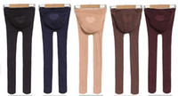 Wholesale Pregnant Pants Maternity Plus Size Leggings Pantyhose tutuanna Anti off silk D Thick Tights colors