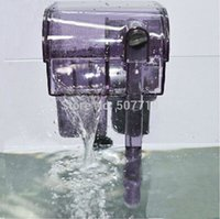 Wholesale Aquarium fish tank waterfall type filter tank external wall filter WF filter tank falls