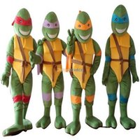 Wholesale Fancytrader Deluxe EVA Head Teenage Mutant Ninja Turtles Mascot Costume With Fan Helmet FT30579