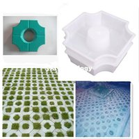 concrete molds - Middle Of Hole SHape Garden Path Concrete Plastic Brick Mold Paving Pavement Walkway Cement Brick Molds x27x8cm
