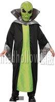 alien clothing - Star Wars ET Alien Cosplay costumeset clothing mask Halloween Fancy for girls boys kids party for christmas