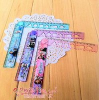 folding ruler - Ice and snow country princess cartoon stationery Pattern in snow and ice princess cm folding ruler FS012