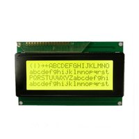 Wholesale Mance Z5 PC New X4 V Character LCD Display Module Yellow Backlight
