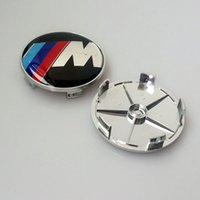 acura sport cars - Exterior Accessories Emblems SPORT M M mm Full Chrome Car Emblem Wheel Center Hub Cap Auto Covers For Car Badges Emblem