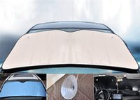 aluminum foil windows - 140 cm Aluminum foil Foldable Car Auto Front window Windshield Sunshade Sun Shade