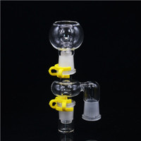bongs - Soulton Glass Percolator Reclaim Catcher Ash Catchers for Glass Bongs and Pipes Reclaim Ash Catcher Adapter Sets Smoking AC