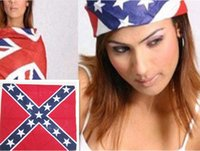 bandana - 2015 New confederate rebel flag bandanas flag print bandana headband for adult bandanas High quality