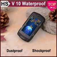 For Samsung dual sim phone smart phone - V10 Rugged Outdoor inch MINI Waterproof Smart Android Phone Dual Core HZ MTK6572 Shockproof Dustproof Bluetooth WIFI G Cellphone