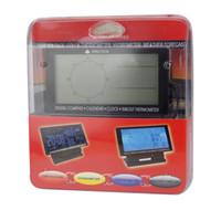 auto compass thermometer - New Auto Double Display Digital pointer Display Digital Car Compass With Thermometer Clock Calendar
