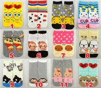 Wholesale Sock Slippers men women adult cartoon cotton ankle socks Korean cute cartoon socks Special socks in stock