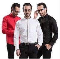 Wholesale New arrival shirt free S XL plus size men shirt long sleeve men dress shirt fashion shirts for men cheap