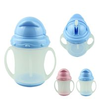 baby essentials kit - Essential SkyBlue Ourdoor Travel Safety ml new baby drinkware water bottle training bottle Soft Straw Kit Child A5