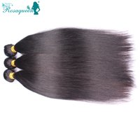 Cheap Wholesale-Peruvian Virgin Hair Straight Human Hair Natural Black Color Hair Extensions Weaves Can Be Dyed Bleached No Shedding Tangle