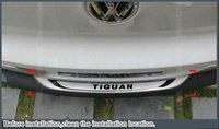 Cheap Car styling rear bumper plate auto accessories outside For VW TIGUAN 2010 2011 2012 2013 2014 Stainless Steel 1pc per set