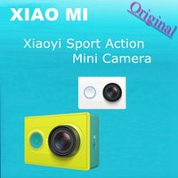 Wholesale Original Xiaomi Xiaoyi Yi Action Sport Camera Xiaomyi travel Smart sports Camera MP X3456 x1080p mAh WIFI Bluetooth