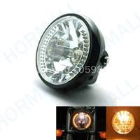 benelli motorcycles - LED motorcycle headlight kits led lights headlights moto motorbike led headlight LEDS W K amber light