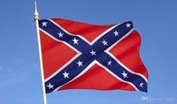 Wholesale 2015 HOT USA Confederate Rebel Civil War Flag cm National Polyester Flag Banner Printed Flag Free DHL FedEx
