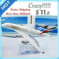 airplane emirates - New arrival Airlines plane model Emirates airline A380 cm metal airplane models airplane model
