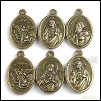 Wholesale 120pcs Mix Bronze Tag with Goddess Photo Charms Zinc Alloy Pendants Accessories Jewelry Findings mm