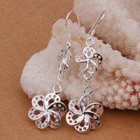 Wholesale fashion Silver Earrings Silver jewelry PE278