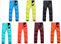 Wholesale Gsou snow High quality Purple Orange Yellow Blue Black ski pants Women snowboard Trousers waterproof thermal Warm outdoor sports