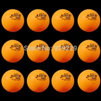 Wholesale 12pcs DHS Approved Yellow mm Stars Table Tennis Balls Traning Match Game Durable Ping Pong Balls