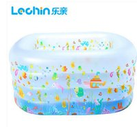 bath drainage - Music pro inflatable swimming pool baby infant swimming pool drainage Ocean era double thick scrub