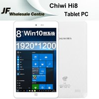Wholesale CHUWI Hi8 Windows Dual Boot Inch Tablet PC GHz Intel Bit Quad Core Perfect Intel Z3736F GB GB Bluetooth White