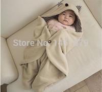 baby footmuff - Autumn Winter Newborn Sleep Sacks Footmuff Baby Parisarc Blanket Infant Hooded Swaddle Swaddling Sleeping Bag Cart Stroller Sack