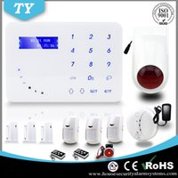 Wireless auto dialer gsm home alarm - Newest APP Touch Keypad Wireless Home Security Burglar GSM Alarm System with Auto dialer tamper alarm G13