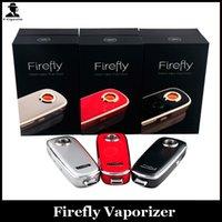 Single grey Metal Firefly Vaporizer Kit Wax Dry Herb Vaporizers Pen CloneTemperature Control Herbal Vaporizer Electronic Cigarette VS Titan1 2 Vaporizer Kit
