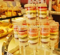 Wholesale 300pcs Push Up Pop Containers push Cake Pop cake container for Party Decorations