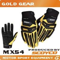 Protection SCOYCO MX54 motocross Guantes moto gants de VTT Dirt Bike moto motociclista de ciclismo moto motos