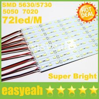 Wholesale Super Bright LED Bar Light DC12V cm led M SMD Aluminum Alloy Hard Rigid Strip Lights For Cabinet Jewelry Display
