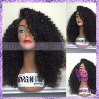 kinky curl lace wig - hot selling large discount fast delivery quality guaranteed kinky curl lace front human hair wigs