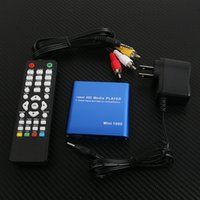 Wholesale 1080P Mini HDD Media Player MKV H RMVB Full HD with HOST USB SD Card Reader L0192433