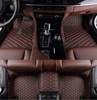 Wholesale Good quality Custom special floor mats for Ford Mustang doors waterproof wear resisting carpets for Mustang
