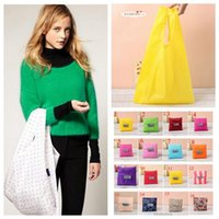 Wholesale Foldable Waterproof Storage Eco Reusable Shopping Tote Bags Quality Shopping Bag Colors