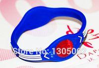 Precio de Venda de la energía equilibrio silicona-Wholesale-100pcs nuevo estilo bandas de silicona Balance energético wristband poder pulsera holograma banda con cajas al por menor