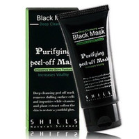 Wholesale 1PCS Hot Selling SHILLS Deep Cleansing purifying peel off Black mud Facail face mask Remove blackhead facial mask Smooth Skin Shills Masks